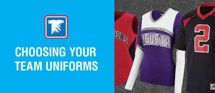 Choosing Team Uniforms