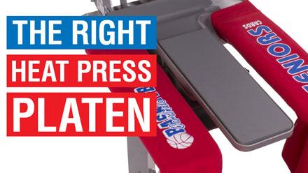 the right heat press platen webinar