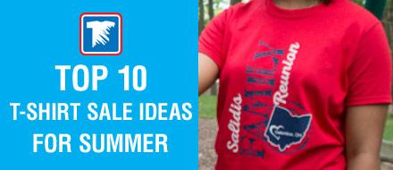 webinar for top 10 summer t-shirt sale ideas