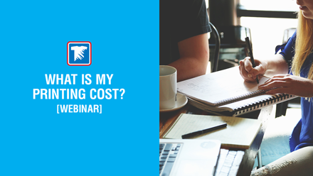 What is My Printing Cost? Webinar