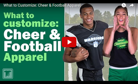 football apparel video