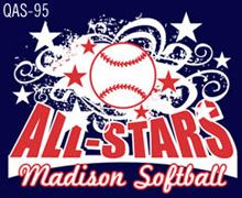 baseball all star design