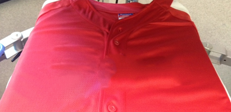 split front blank baseball jersey