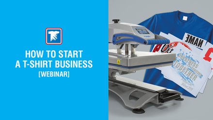 how to start a t-shirt business webinar
