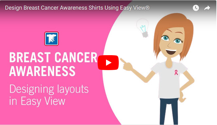 create breast cancer awareness apparel