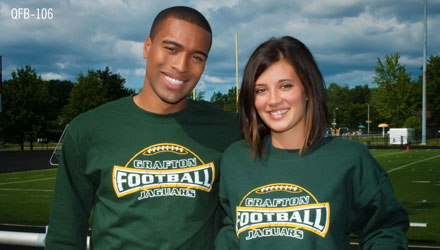 custom football fan apparel