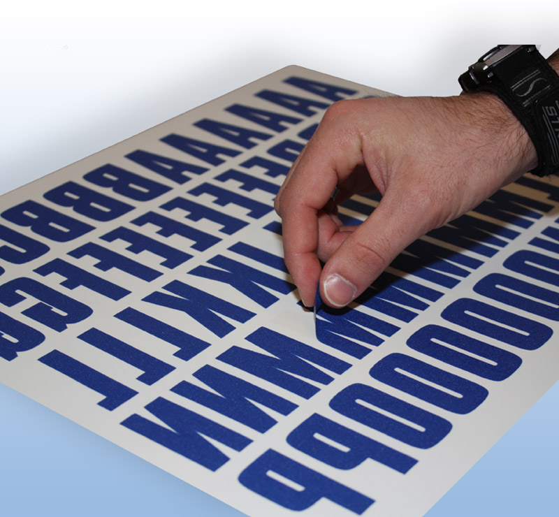 peel press letter kits