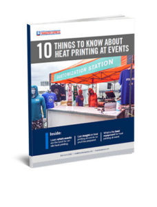 on site heat printing guide